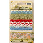 Websters Pages - Spring Market Collection - Designer Trim and Ribbon