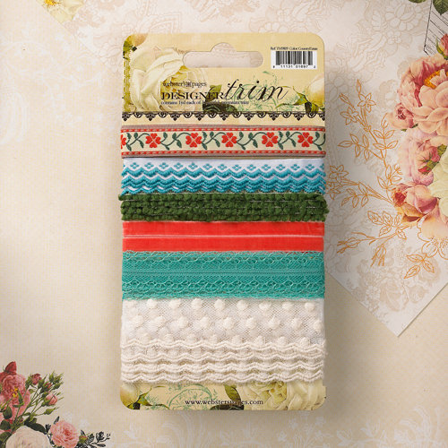 Websters Pages - Country Estate Collection - Designer Trim and Ribbon