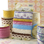 Websters Pages - Western Romance Collection - Designer Trim and Ribbon