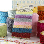 Websters Pages - Designer Ribbon - Tinsel - Assorted One