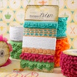 Websters Pages - Sunday Picnic Collection - Designer Trim and Ribbon