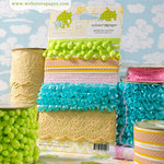 Websters Pages - New Beginnings Collection - Designer Trim and Ribbon
