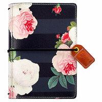 Websters Pages - Color Crush Collection - Pocket Traveler - Black Floral