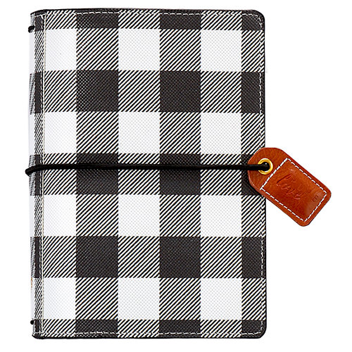Websters Pages - Color Crush Collection - Pocket Traveler - Buffalo Plaid