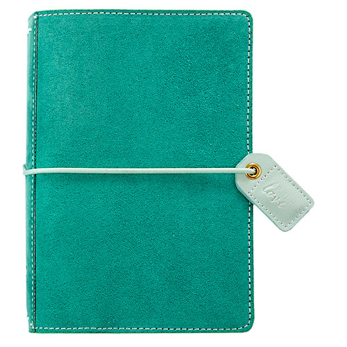 Websters Pages - Color Crush Collection - Pocket Traveler - Aspen Green Suede