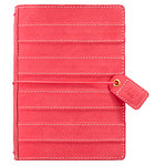 Websters Pages - Color Crush Collection - Pocket Traveler - Pink Stitched Stripe