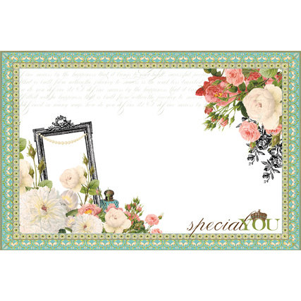 Websters Pages - Ladies and Gents Collection - 4 x 6 Layered Transparency Pack
