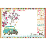 Websters Pages - Trendsetter Collection - 4 x 6 Layered Transparency Pack