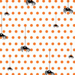 Websters Pages - Once Upon a Halloween Collection - 12 x 12 Transparency - Spiders