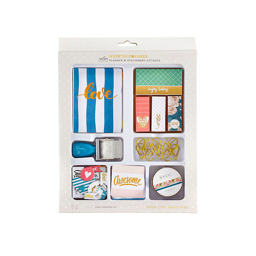 Websters Pages - Color Crush Collection - Stationery Tray - 005