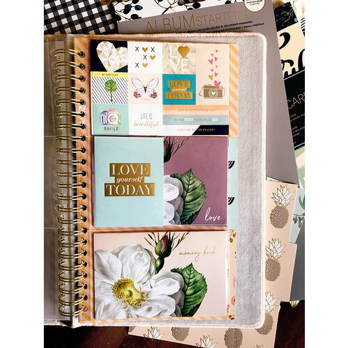 Websters Pages - Color Crush Collection - Tall - Album Starter Kit - Everyday