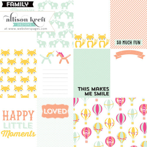 Websters Pages - Hello World Collection - 3 x 4 Color Transparency Cards