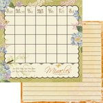Websters Pages - Designer Calendars Collection - 12 x 12 Double Sided Paper - Miracles Calendar, CLEARANCE