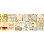 Websters Pages - Journaling Cards - Old World Message , BRAND NEW