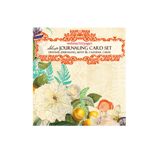 Websters Pages - Seaside Retreat Collection - Deluxe Journaling Cards