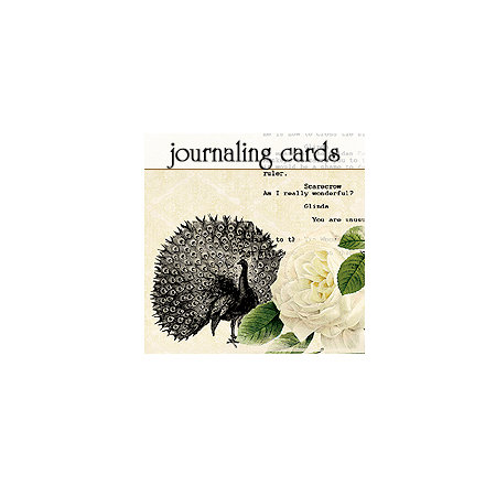 Websters Pages - Hollywood Vogue Collection - Deluxe Journaling Cards
