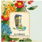 Websters Pages - Spring Market Collection - Deluxe Journaling Cards