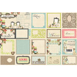 Websters Pages - Ladies and Gents Collection - Deluxe Journaling Cards
