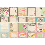 Websters Pages - Trendsetter Collection - Deluxe Journaling Cards