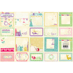 Websters Pages - Winter Fairy Tales Collection - Deluxe Journaling Cards