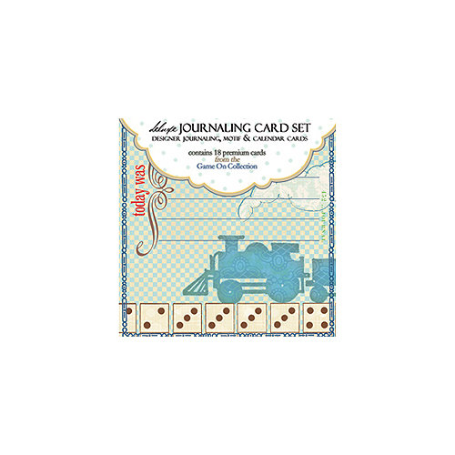 Websters Pages - Game On Collection - Deluxe Journaling Cards