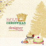 Websters Pages - Royal Christmas Collection - Deluxe Journaling Cards