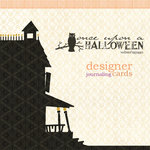 Websters Pages - Once Upon a Halloween Collection - Deluxe Journaling Cards