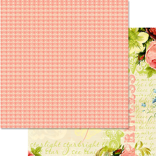 Websters Pages - Magical Wishes Collection - 12 x 12 Double Sided Paper - Beauty