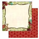 Websters Pages - Home for the Holidays Collection - Christmas - 12 x 12 Double Sided Paper - Wish Upon a Star