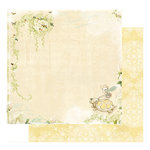 Websters Pages - Lullaby Lane Collection - 12 x 12 Double Sided Paper - Dreamland