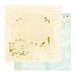 Websters Pages - Lullaby Lane Collection - 12 x 12 Double Sided Paper - The Arrival