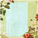 Websters Pages - Lullaby Lane Collection - 12 x 12 Designer Vellum - Lullaby