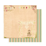 Websters Pages - Garden Gala Collection - 12 x 12 Double Sided Paper - Fresh Air, CLEARANCE