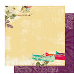 Websters Pages - Seaside Retreat Collection - 12 x 12 Double Sided Paper - New Discoveries, CLEARANCE