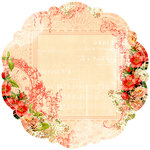Websters Pages - Lullaby Lane Collection - 12 x 12 Die Cut Paper - Lullaby