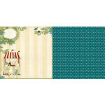Websters Pages - WonderFall Collection - 12 x 12 Double Sided Paper - A Sweet Stop