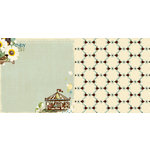 Websters Pages - WonderFall Collection - 12 x 12 Double Sided Paper - Enjoy Life