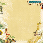 Websters Pages - Wonderfall Collection - 12 x 12 Designer Vellum - WonderFall