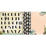Websters Pages - Hollywood Vogue Collection - 12 x 12 Double Sided Paper - Double Feature