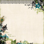Websters Pages - Hollywood Vogue Collection - 12 x 12 Designer Vellum - Hollywood