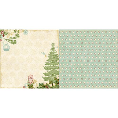 Websters Pages - Waiting for Santa Collection - Christmas - 12 x 12 Double Sided Paper - Decorations