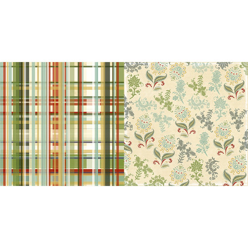Websters Pages - Waiting for Santa Collection - Christmas - 12 x 12 Double Sided Paper - Wrapping Paper