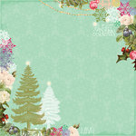 Websters Pages - Sweet Season Collection - Christmas - 12 x 12 Designer Vellum - Sweet