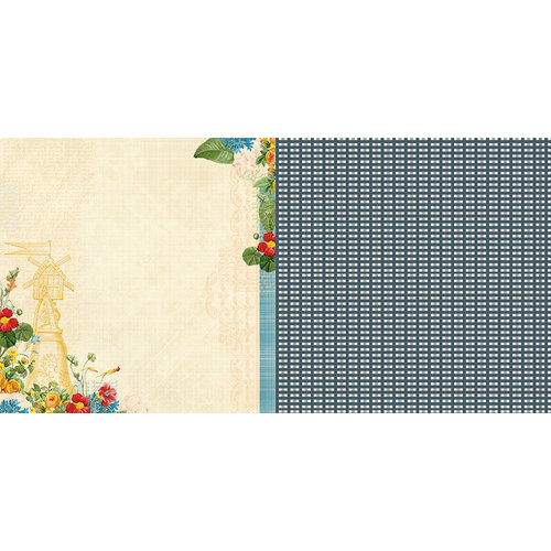 Websters Pages - Spring Market Collection - 12 x 12 Double Sided Paper - Simple Pleasures