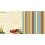 Websters Pages - Spring Market Collection - 12 x 12 Double Sided Paper - Fresh Harvest
