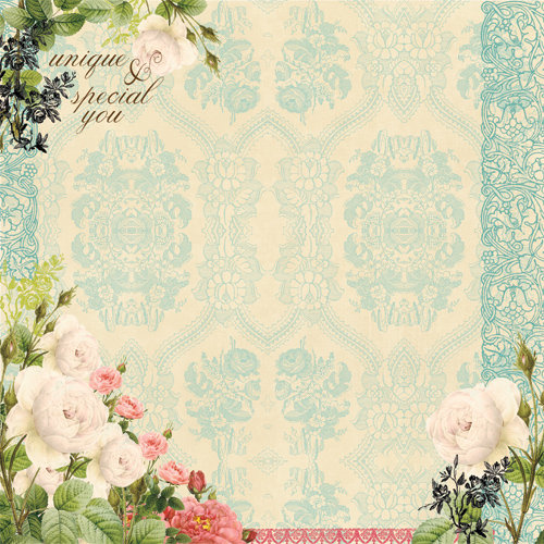 Websters Pages - Ladies and Gents Collection - 12 x 12 Designer Vellum - Ladies and Gents
