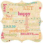 Websters Pages - Trendsetter Collection - 12 x 12 Die Cut Paper - Trendsetter