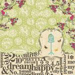 Websters Pages - Trendsetter Collection - 12 x 12 Designer Vellum - Trendsetter