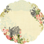 Websters Pages - Country Estate Collection - 12 x 12 Die Cut Paper - Country Estate
