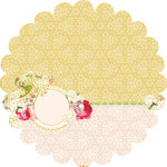 Websters Pages - Winter Fairy Tales Collection - 12 x 12 Die Cut Paper - Winter Fairy Tales